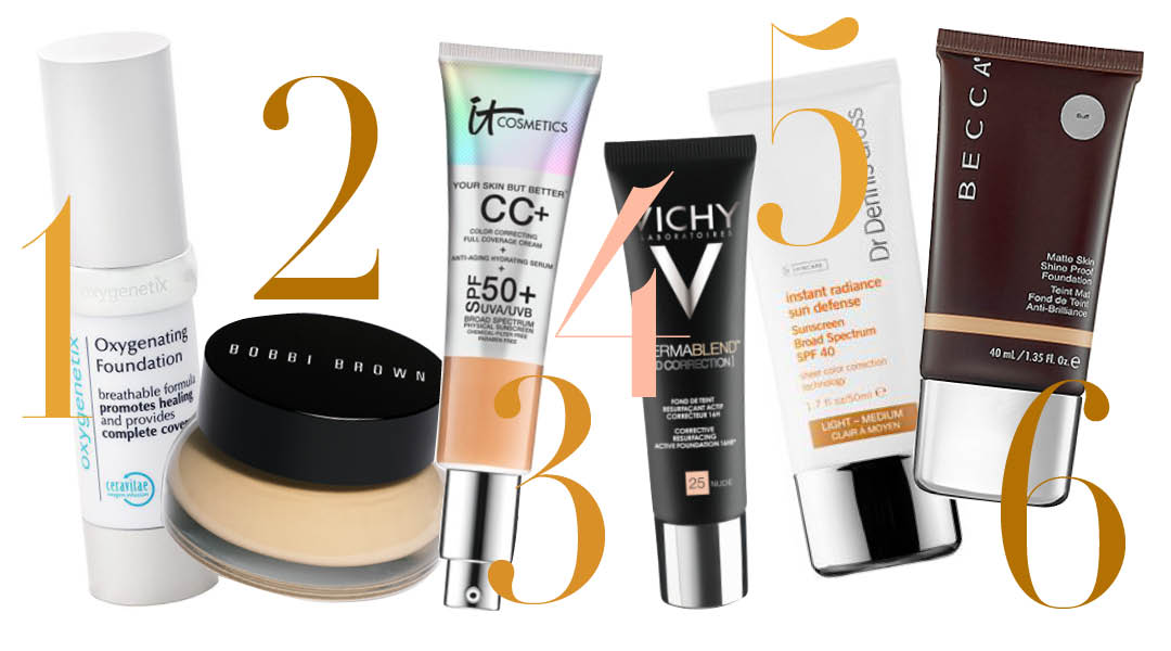 best foundations for bad skin days