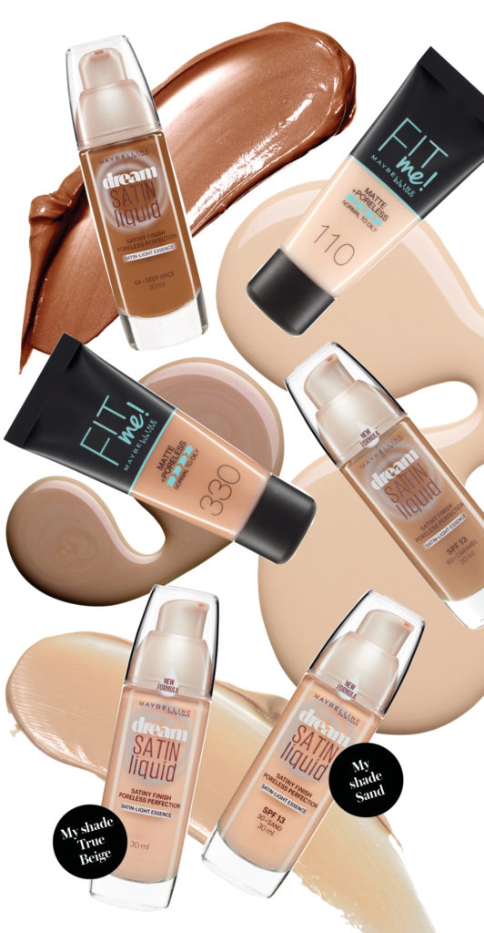 create perfect complexion maybelline foundation