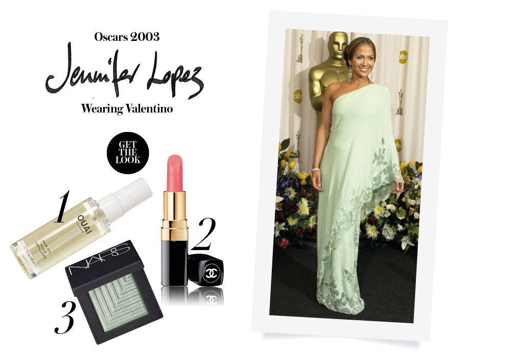 red carpet look oscars jennifer lopez