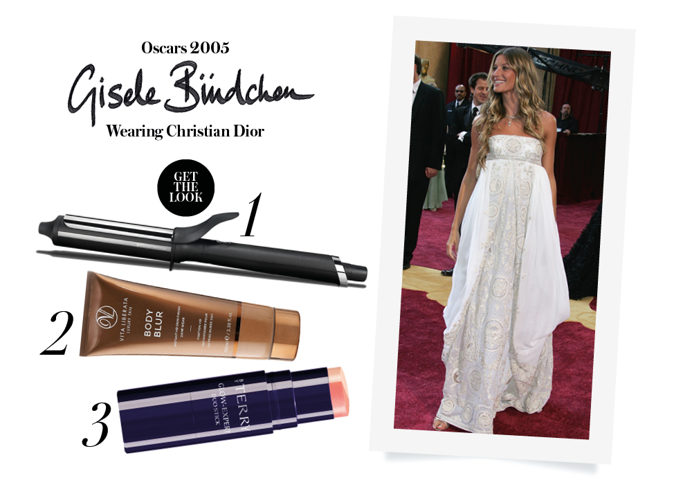 red carpet look oscars gisele budchen