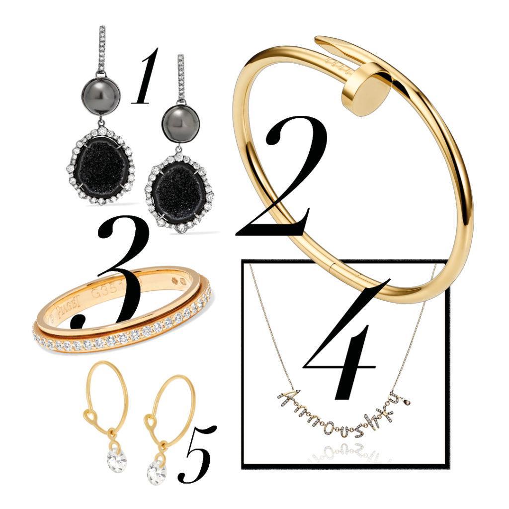 gold simple jewellery