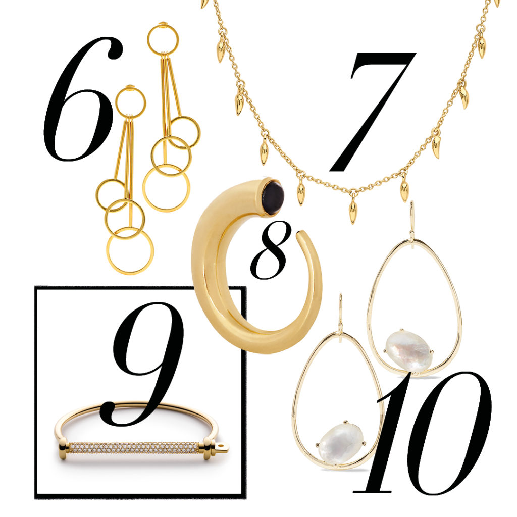 jewellery gold sparky simple statement missoma