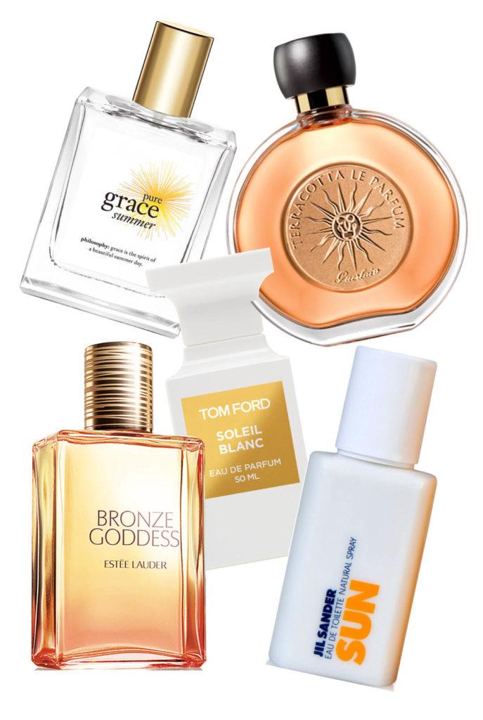 summer perfume warm fragrance