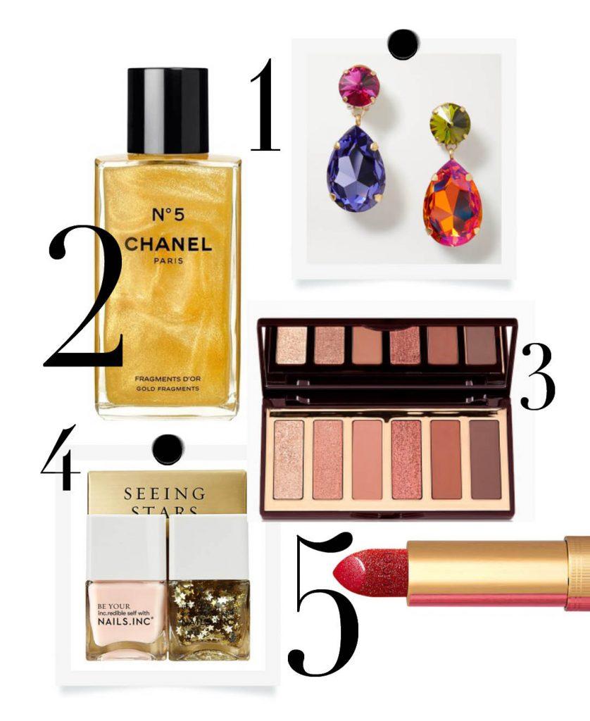 Luxury christmas gift guide charlotte tilbury chanel shimmering oil